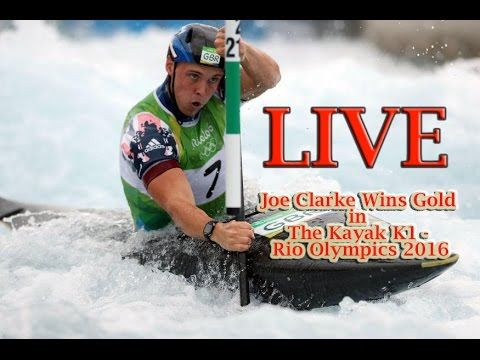 Joe Clarke Wins Gold in The Kayak K1 Rio Olympics 2016 | Great Britain J...