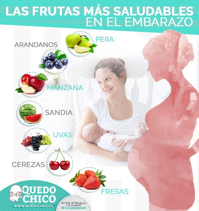Las frutas y verduras están cargadas de nutrientes esenciales y fibra, y son una parte esencial de cualquier dieta saludable.   Por eso deben figurar en abundancia en tu cocina durante el embarazo y post-parto.  Visitanos en www.quedochico.cl