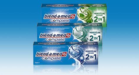 Oral-B blend-a-med Complete 2in1 Produkttest!