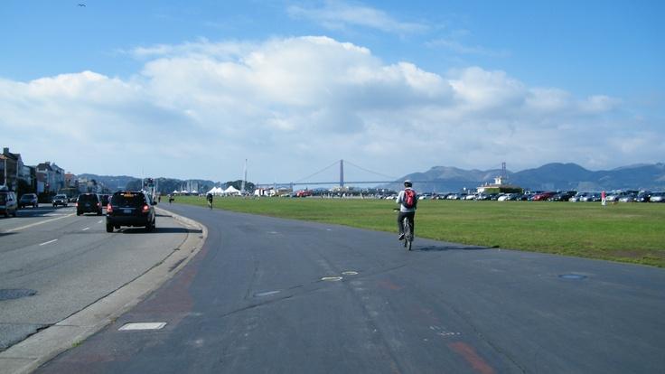 San Francisco... road to Golden Gates
