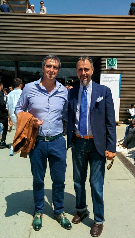 My friend fashion designer Luca Giusto - Bespoke handmade shoes Antonio Parrotto