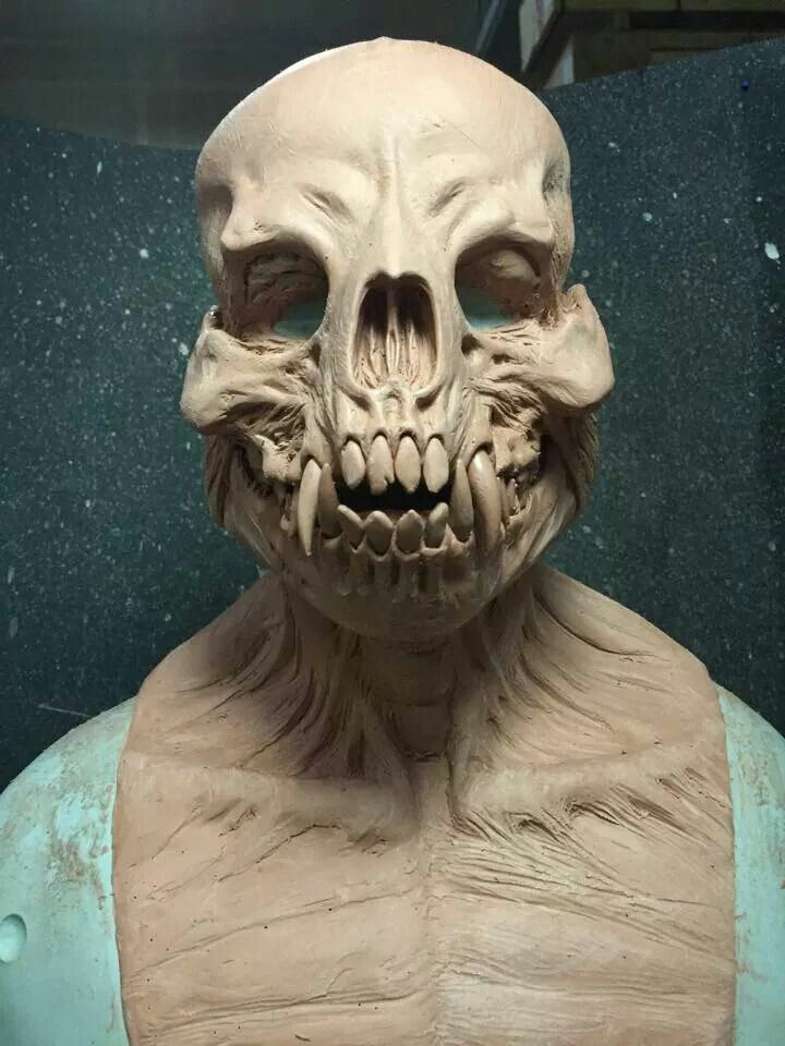 Creepy awesome sculpt | Fantastic characters | Creature ...