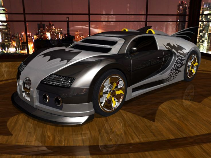 Bugatti Veyron Batmobile! Will Ben Affleck drive this in the next #Batman movie? Click the image to find out... #SupercarSunday