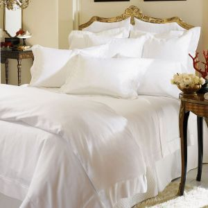 your fine linen experts at of madison connecticut recommend the sferra millesimo collection available in white or ivory egyptian cotton