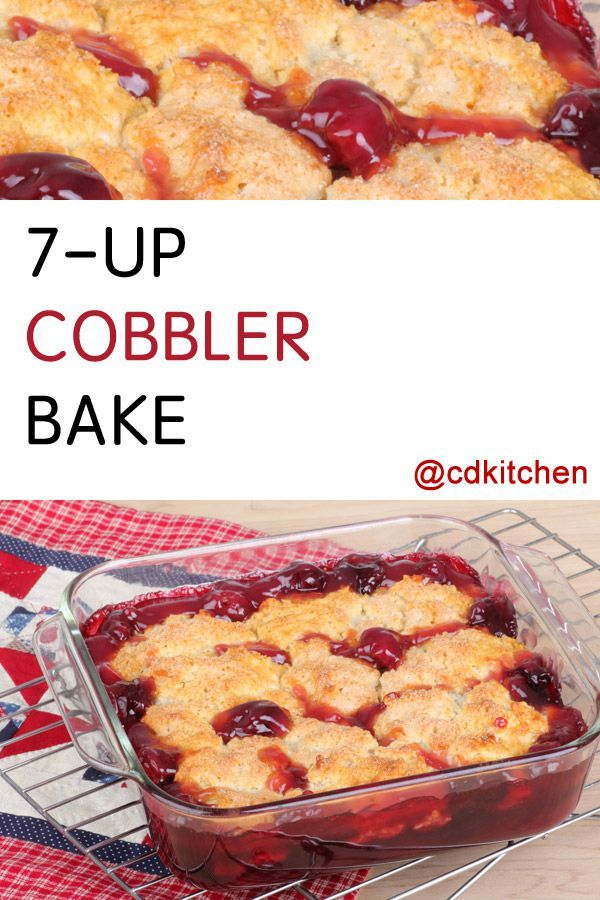Made with cherry pie filling, yellow cake mix, 7-up | CDKitchen.com