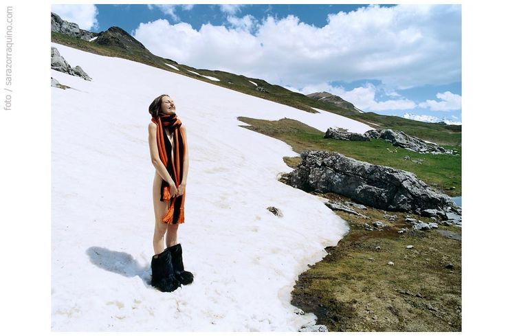 #snow #spring #winter is over #cool #France #Formigal #Aramon #Dealerdeluxe #JuncalCucullo #Spain #Pyrenees  #Fashion editorial by #SaraZorraquino