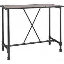 Acme Furniture 72030 Caitlin Bar Table Rustic Oak Black
