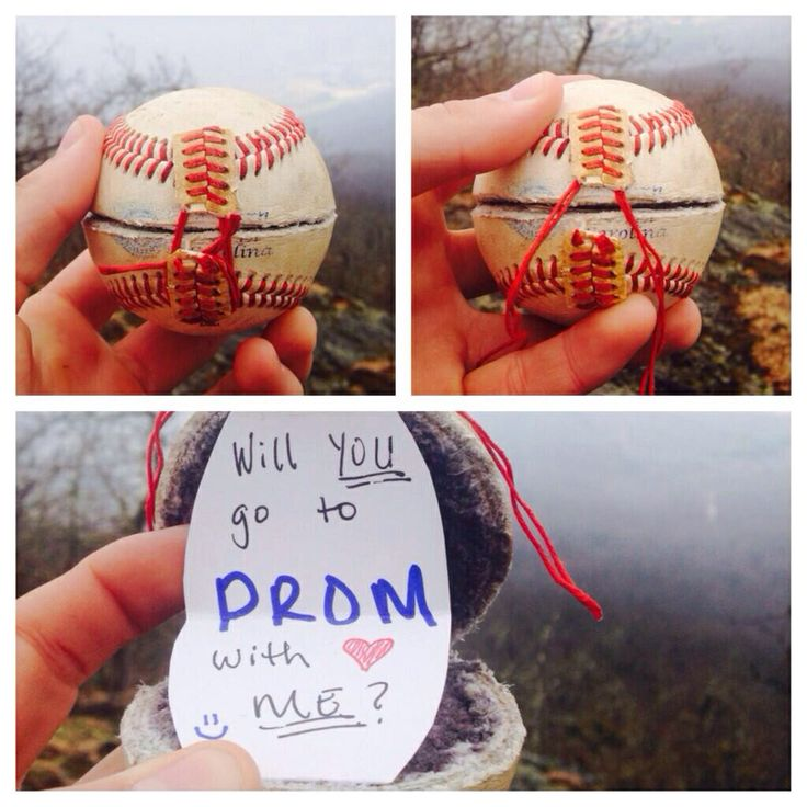 So cute baseball promposal. Prom asking idea