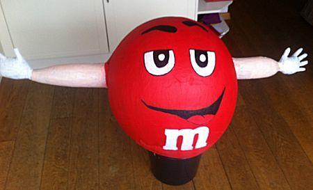 M & M surprise van ballonnen