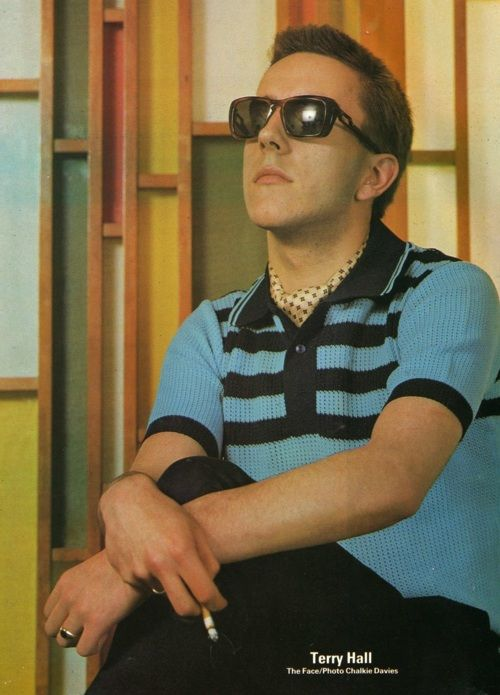 The young Terry Hall of The Specials. Ska 2 Tone