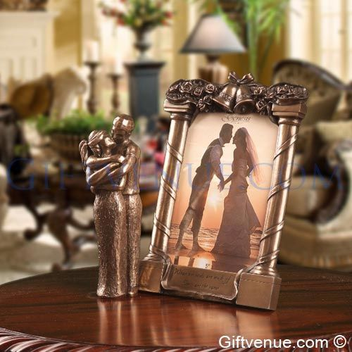 Genesis Bronze Wedding Gift Set. Wedding gifts that will be remembered