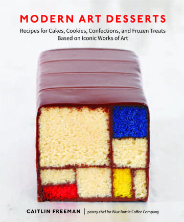 In her new book, Modern Art Desserts, pastry chef Caitlin Williams Freeman coverts famous works of art into gorgeous, edible desserts. So cool!