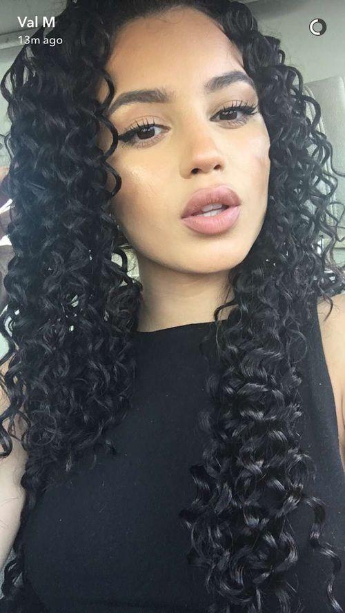 grafika curly, girl, and hair