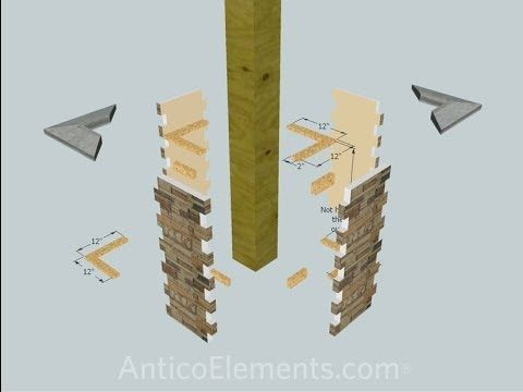 How To Install Faux Stone Posts & Coumn Wraps For Porch Pillars