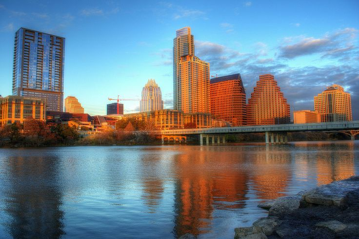 Lady Bird Lake ( Town lake). Austin, Texas