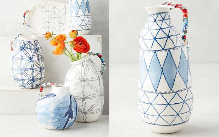 Keramisk Collection by Anna Westerland   Create a home inspired by the colors and charm of the famous Greek island.