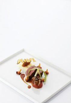 Hertenkalf met schorseneren - Culinaire Ambiance - Geert Van Hecke !