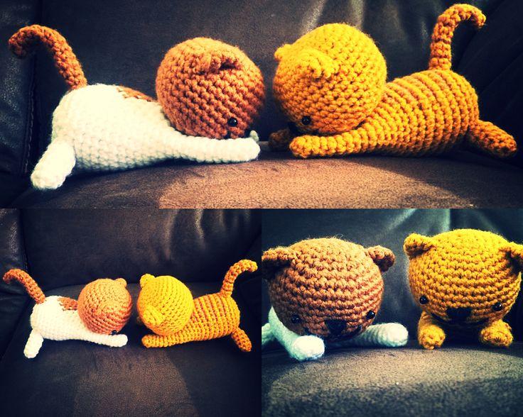 Gatitos amigurumi crochet