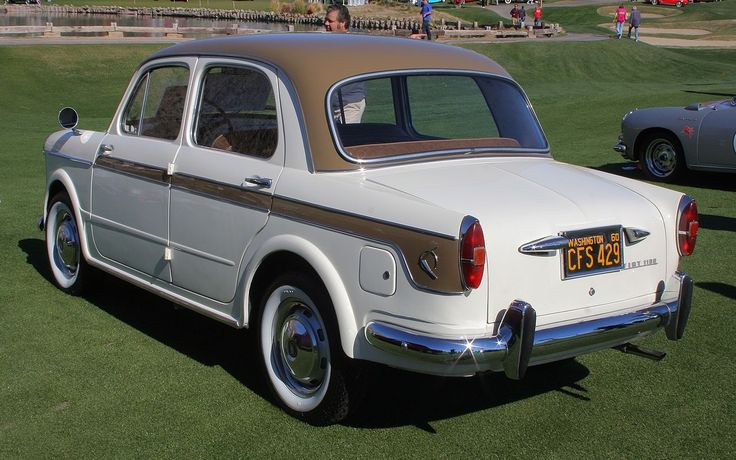 1960 Fiat 1100 Lusso - rvl - Fiat 1100 - Wikipedia