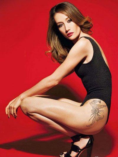 Maggie-q-tetoválás