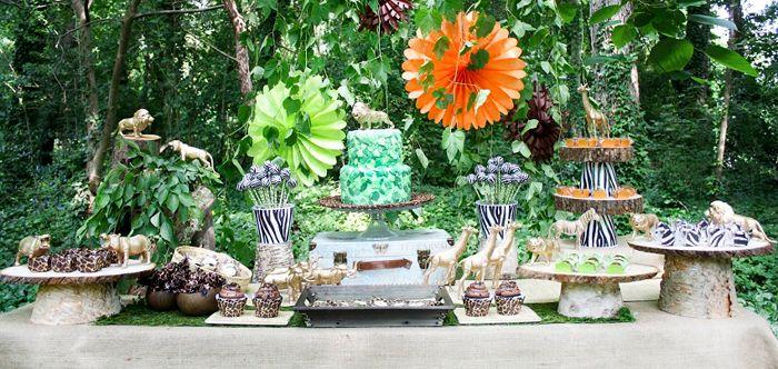 Safari Party Guest Dessert Feature | Amy Atlas Events