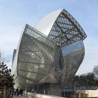 Inspirations & Recommendations : THE LOUIS VUITTON FOUNDATION: PARIS