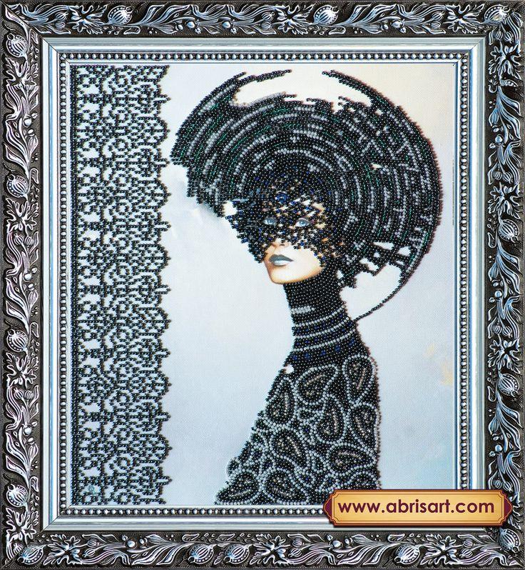 Вышивка бисером на художественном холсте