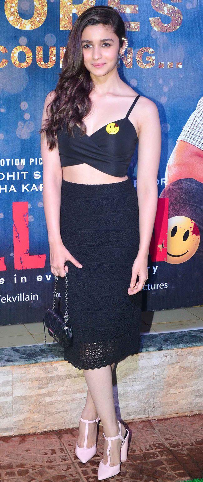 Alia Bhatt at the success bash of 'Ek Villain'