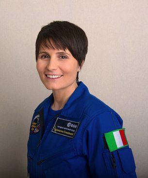 Samantha Cristoforetti / Astronauts / Human Spaceflight / Our Activities / ESA One of the first women to be a lieutenant and fighter pilot in the Italian Air Force. Heading out into space 23 Nov 2014. Italy's first female astronaut.