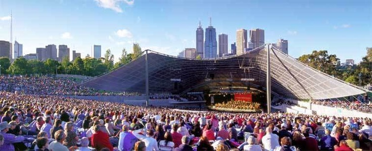 Free MSO concerts in February at the Sidney Myer Music Bowl