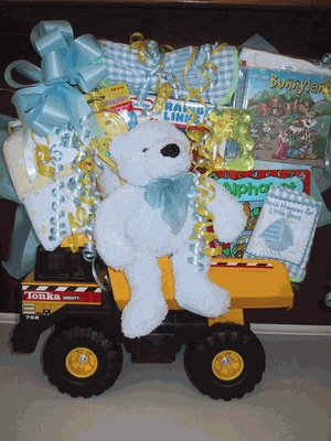 185 best baby easter baskets images on pinterest gift hampers babys first tonka gift basket one of our most popular baby gifts negle Choice Image
