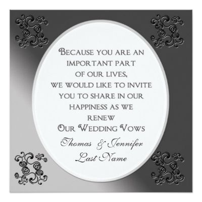 best ideas about vow renewal invitations on, invitation samples