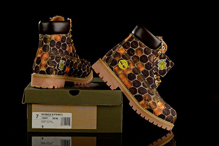 Timberland 6 Inch Boots Honeycomb Print Wheat Brown For Women,Fashion Winter Timberland Womens Boots Outlet Online Shop,timberland euro sprint boots black