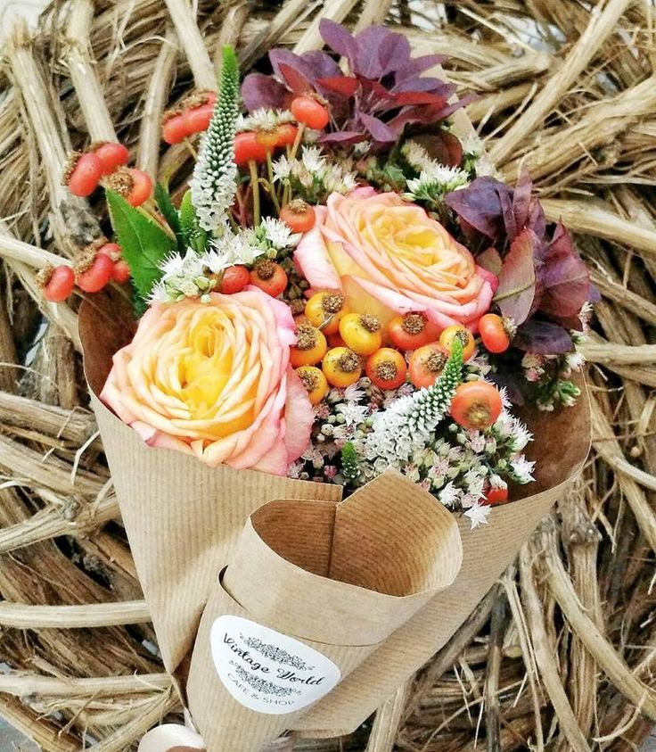 Fall in love Flower bouquet