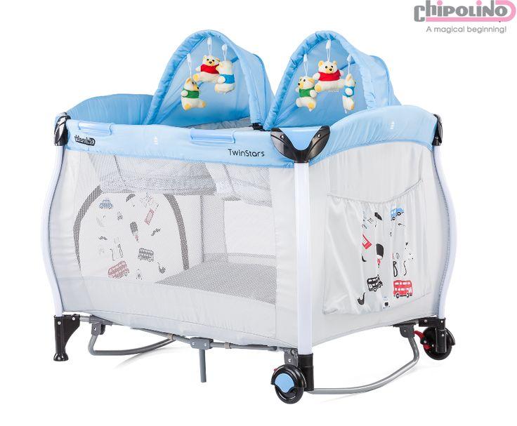 Chipolino Twin Stars Blue Oyun Parkı #bebek #alışveriş #indirim #trendylodi #bebekodası #mobilya #dekorasyon #evdekorasyon #anne #baba