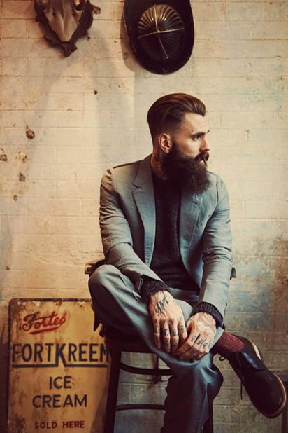 dapper-and-bearded ~Inspiration #GQStyle