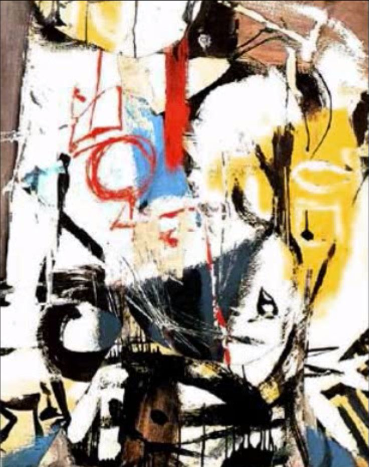 Franz Kline (1910-1962) used stark tonal contrasts and variations of scale to explore gestural movement in his Abstract Expressionist paintings. hough contemporary critics often credited the influence of Japanese calligraphy (a reading that the artist consistently denied), the sweeping vectors that dominate Kline's thickly painted canvases convey the emotion embedded in the act of painting itself.