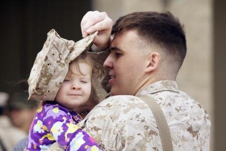 Sgt. Joshua Anderson, combat engineer with I Marine Expeditionary Force (Forward), plays with his daughter, Michelle, 1, Feb. 27, as approximately 150 Marines and sailors prepare to deploy to Afghanistan.Combat Engineering, Marines Expeditionary, Expeditionary Force, Joshua Anderson, Force Forward, Adorable Military, Military Families, Marines Corps, 150 Marines