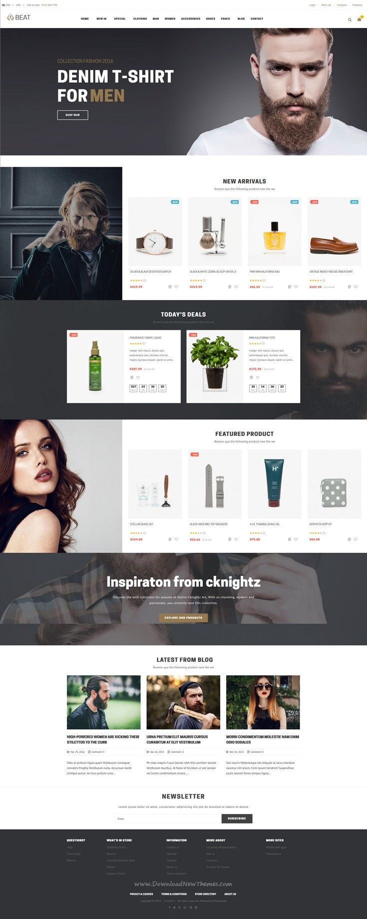 Pts Beat is an advanced Multipurpose #Prestashop theme to build powerful E-Shop for #Fashion, #Cosmetic, Shoes, etc. #webdesign Download Now!