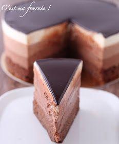 C'est ma fournée ! : L'entremets trois chocolats de Valrhona
