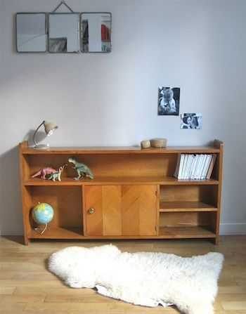 Meuble vintage relook meuble pinterest vintage for Bibliotheque meuble moderne
