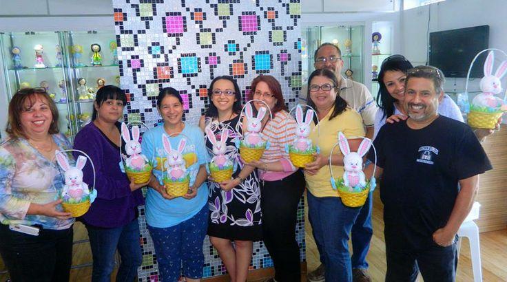 Primer grupo de participantes del Curso Fofucho™ Bunny El Conejito del sábado 5 de abril.