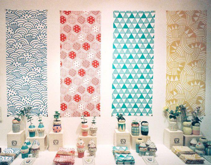 Polkaros Japanese Cloths Tenugui | UGUiSU Online Store