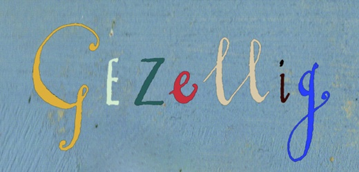 """""""Gezellig"""" is a Dutch word that means cozy, but also embraces the idea of togetherness and welcoming. i'd love to find some word art with """"gezellig"""" for our new house."""