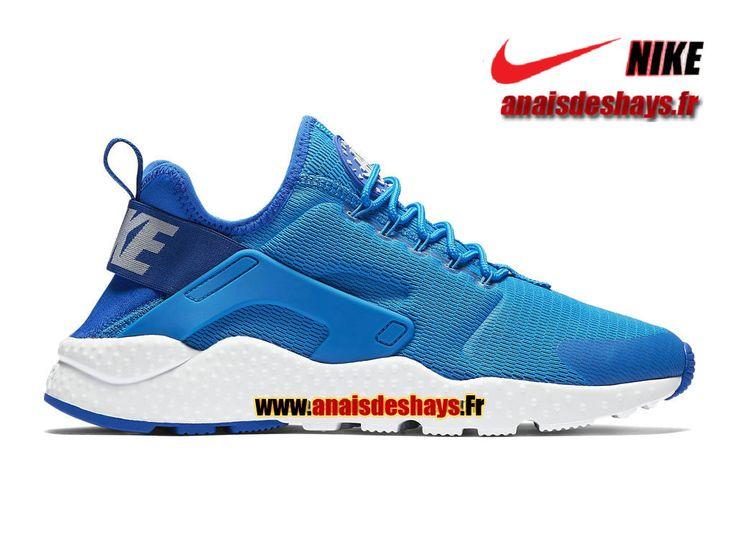 Boutique Officiel Nike Air Huarache Ultra Homme Bleu photo/Blanc/Blanc 819151-400H