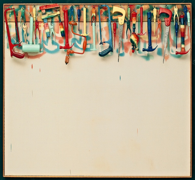 Jim Dine - Five Feet of Colourful Tools [1962]