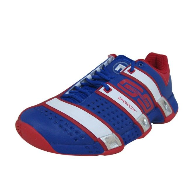 Shoes designed in the colors of France... the Adidas Stabil Optifit FFH