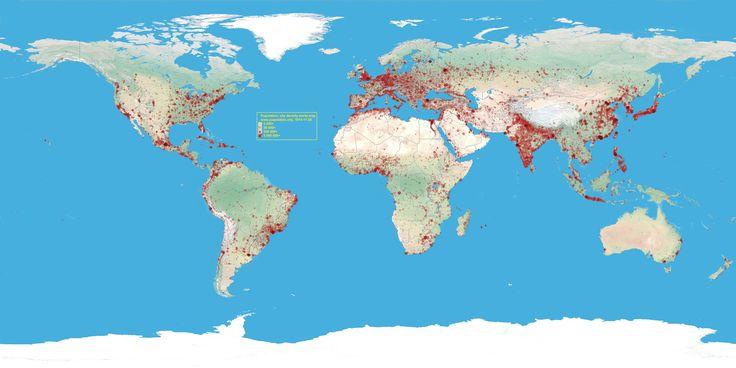 Animace Mapa světové populaceOdhady amerického Úřadu pro sčítání lidu (U.S. Census Bureau)     Počet lidí k 11.4.2017: 7,384 miliardy     1. Čína: 1,379 miliardy  2. Indie: 1,282 miliardy  3. USA: 327 milionů  4. Indonésie: 261 milionů  5. Brazílie: 207 milionů  6. Pákistán: 205 milionů  7. Nigérie: 191 milionů  8. Bangladéš: 158 milionů  9. Rusko: 142 milionů  10. Japonsko: 126 milionů