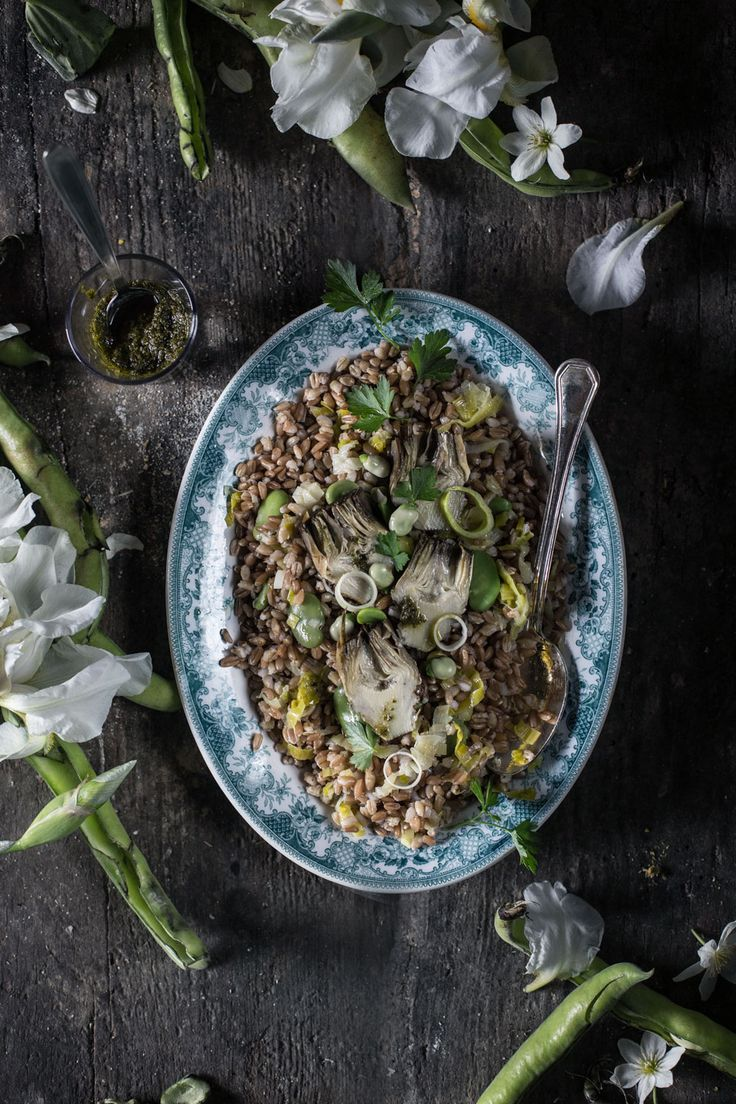 Lays chips french cheese 185g quotes - Ancient Grains Farro Salad With Preserved Artichokes Fava Beans And Gremolata Dressing