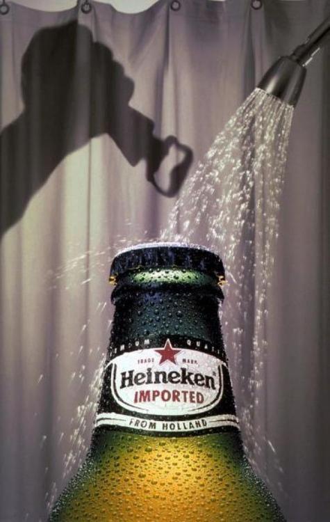 Anuncio Heineken/Psicosis. #Publicidad #Cartel #Diseño